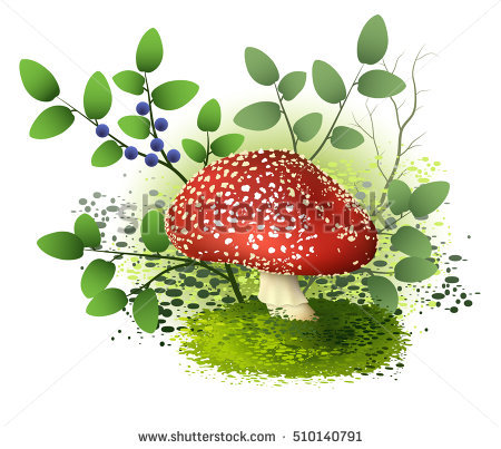 Dead Mushroom Stock Photos, Royalty.