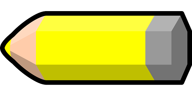 Free vector graphic: Pencil, Yellow, Colored Crayon.