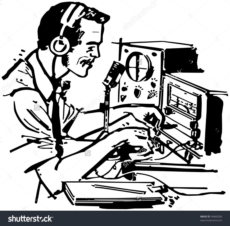Amateur radio clipart.