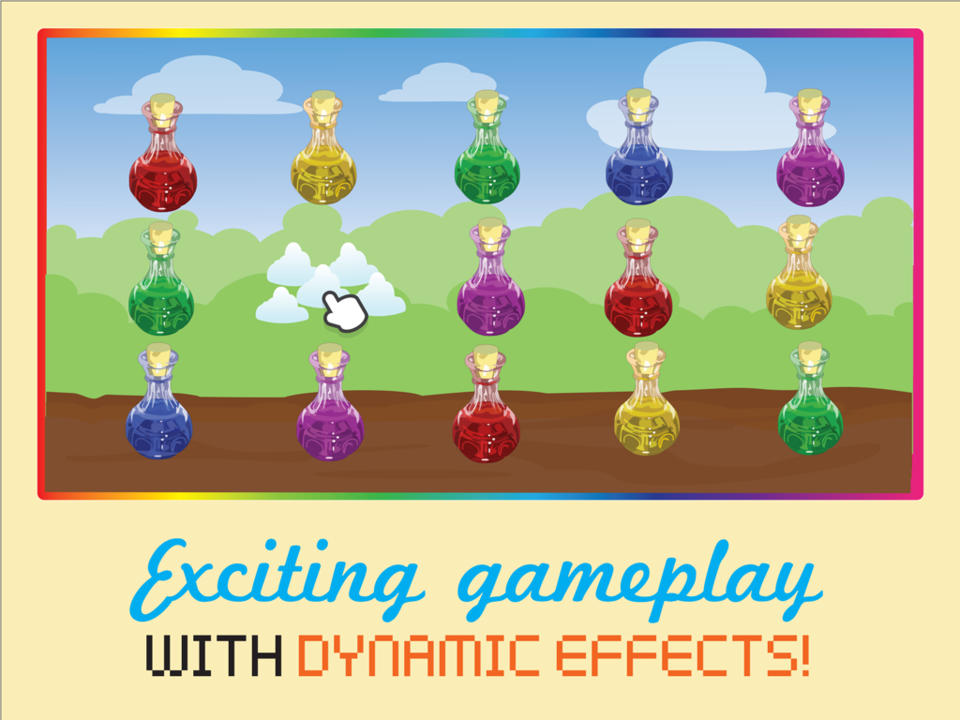 Amatory! ~ A Chain Reaction Game Where You Pop Potions ~.