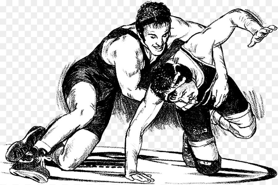 Scholastic wrestling Folk wrestling Clip art Amateur.
