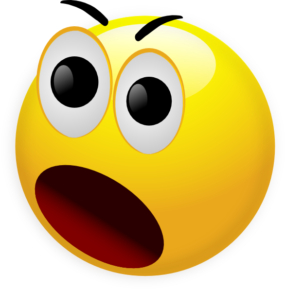 Free Shocked Smiley Face, Download Free Clip Art, Free Clip.