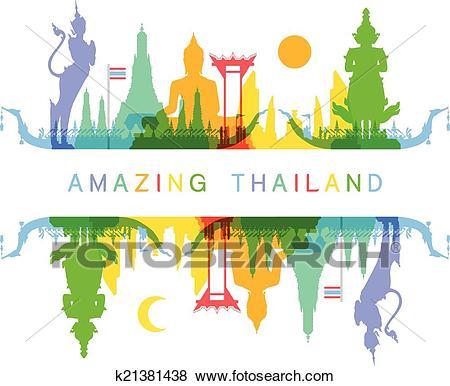 Amazing Thailand Clip Art.