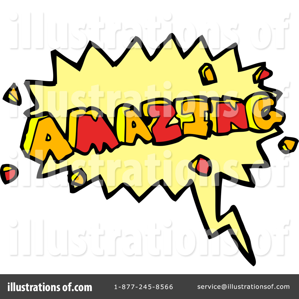 Word Amazing Clipart #1185813.