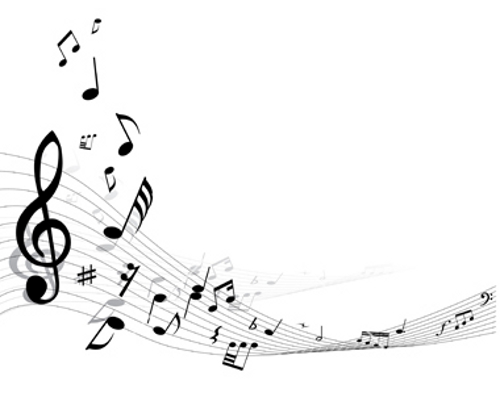 Black Musical Note Clip Art Free.
