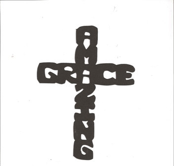 Amazing Grace Cross Clipart.