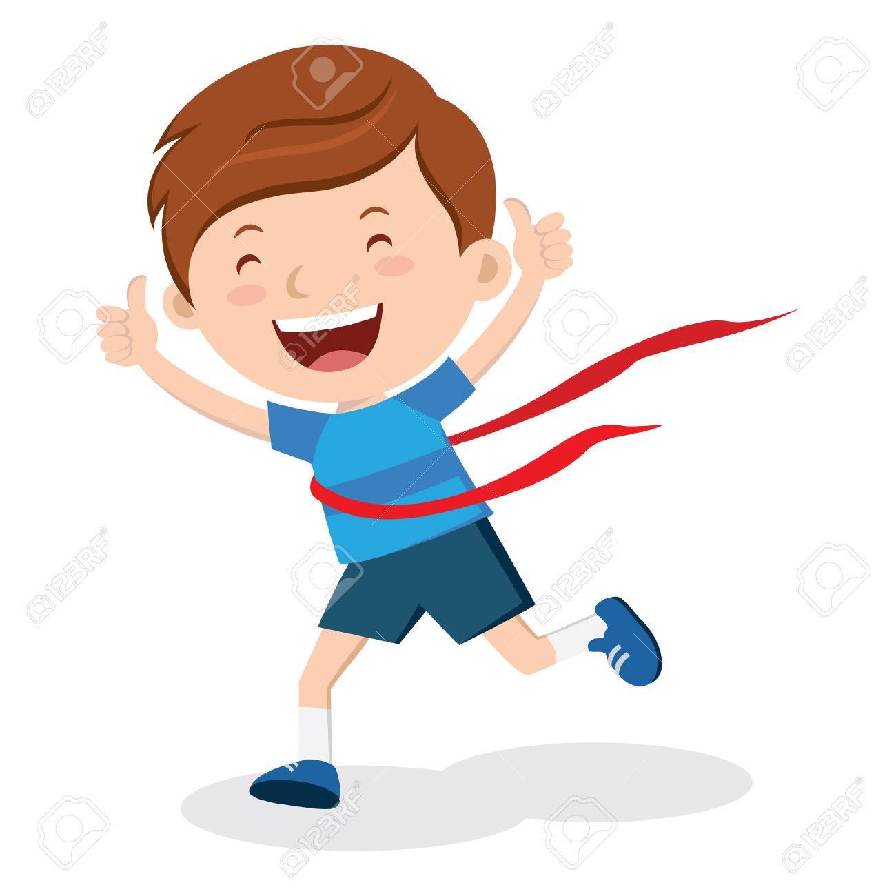 Race winner. Amazing race winner! Marathon winner!.