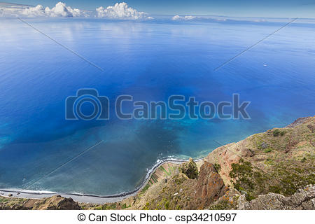 Stock Photographs of Amazing view from the highest Cabo Girao.