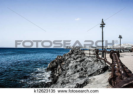 Stock Image of Amazing view in Tanger, Morocco k12623135.