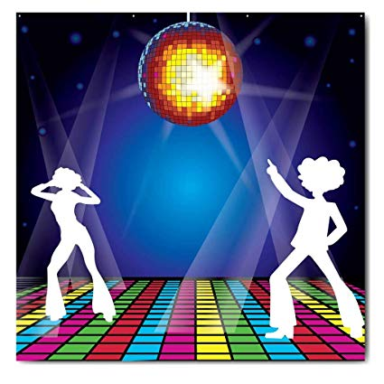 Amazon.com: VictoryStore Photo Backdrop: 70\'s Disco Backdrop.