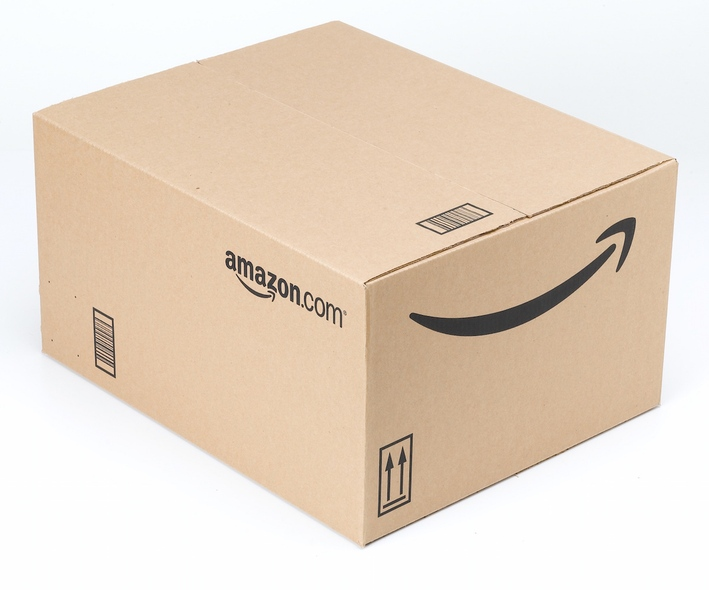 Amazon Box Clipart.