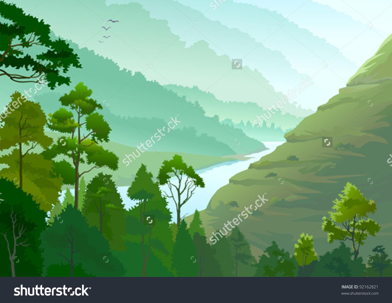 Amazon river clipart.
