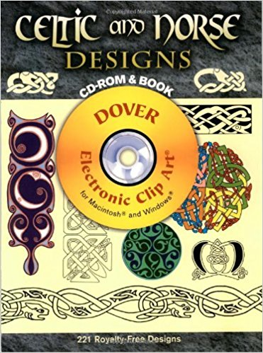 Celtic and Norse Designs (Dover Electronic Clip Art): Amazon.de.