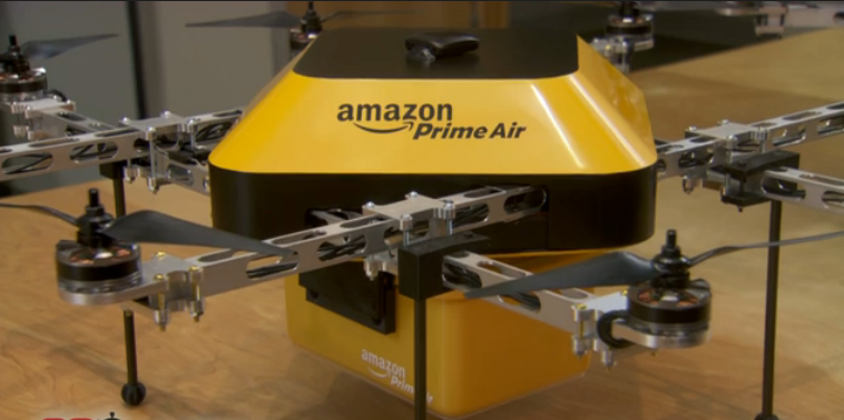 Amazon Is Experimenting With Autonomous Flying Delivery Drones.