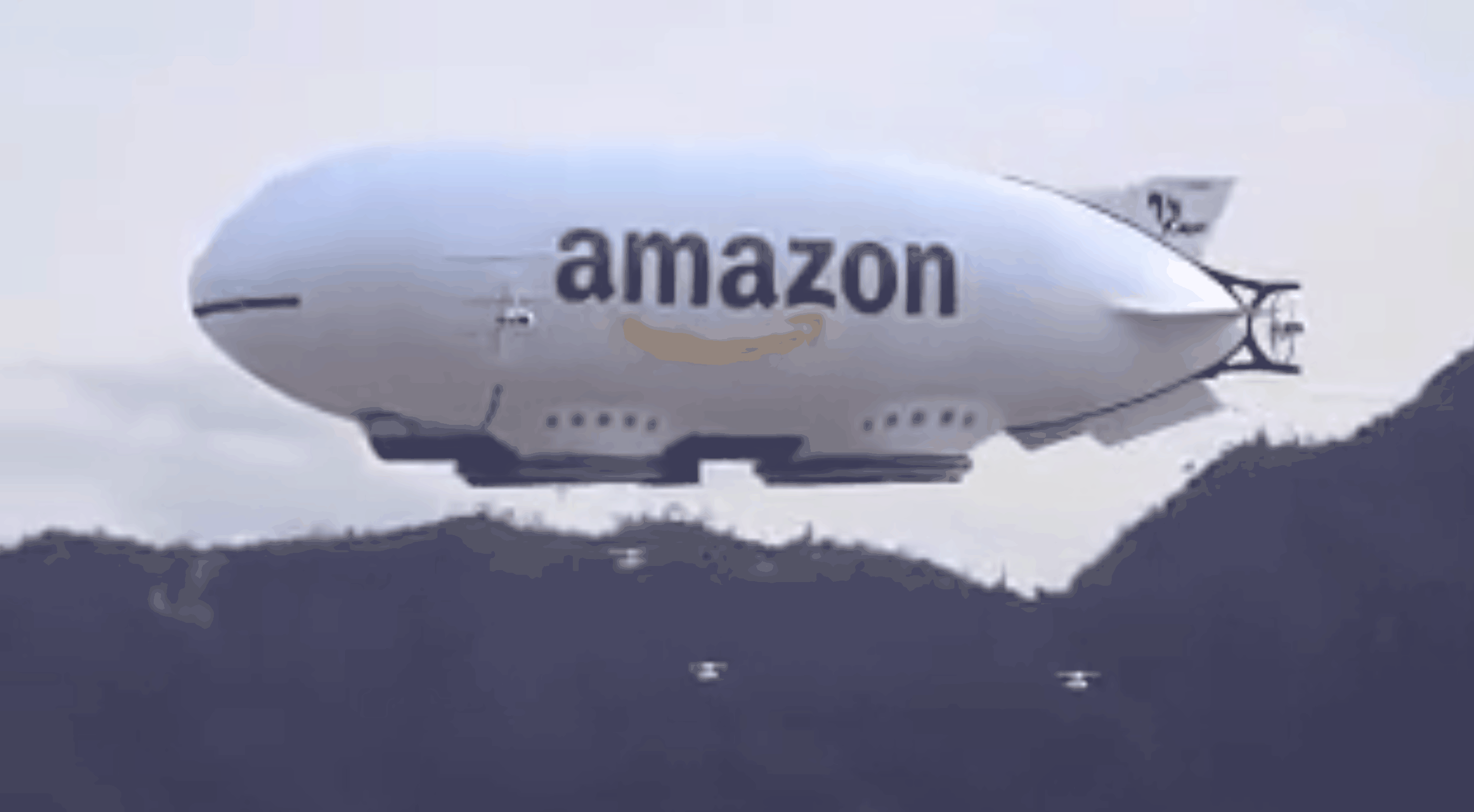 Amazon's futuristic drone shipping concept might just be the.