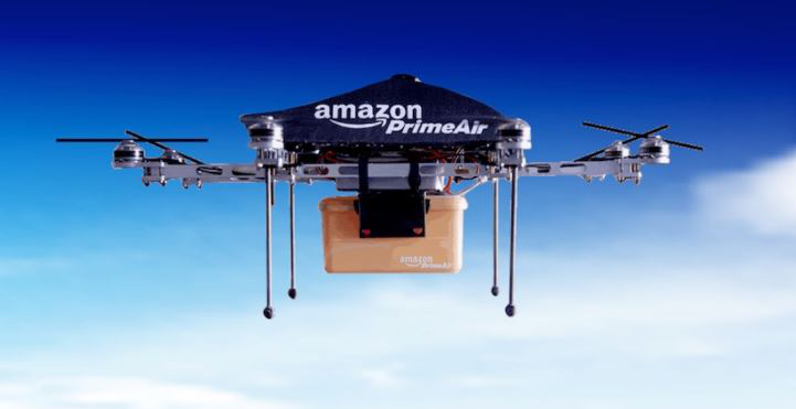 Amazon Reveals Its Upcoming Package Delivery Drone.