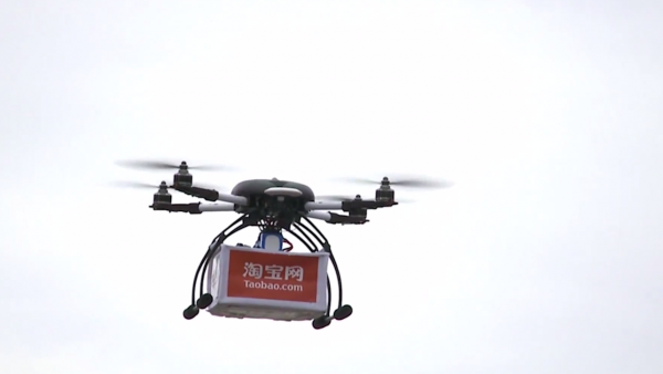 Taobao Beats Amazon in The Drone Delivery Race.