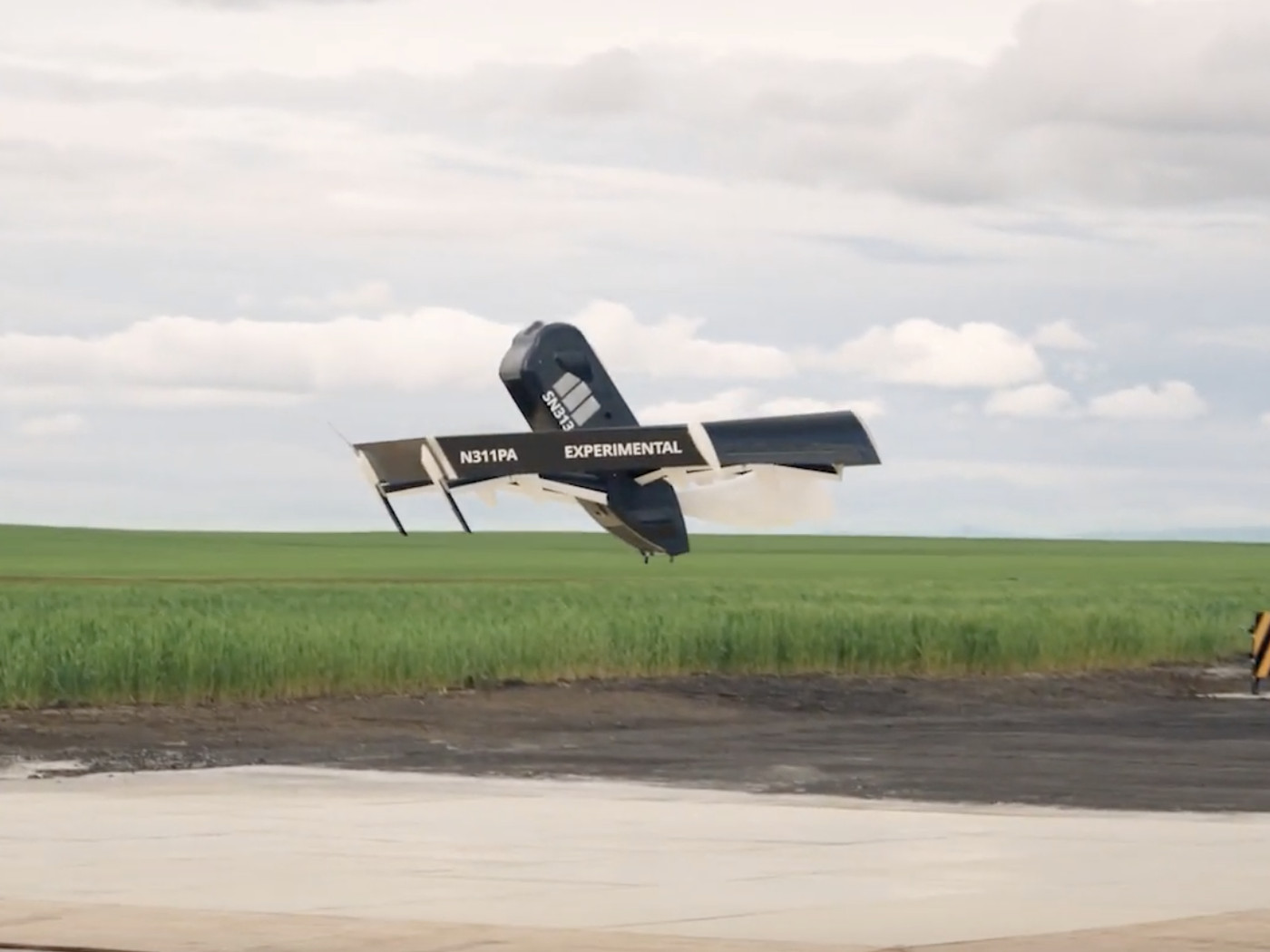 Here's Amazon's new transforming Prime Air delivery drone.