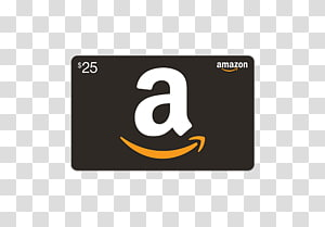 Amazon Gift Card transparent background PNG cliparts free.