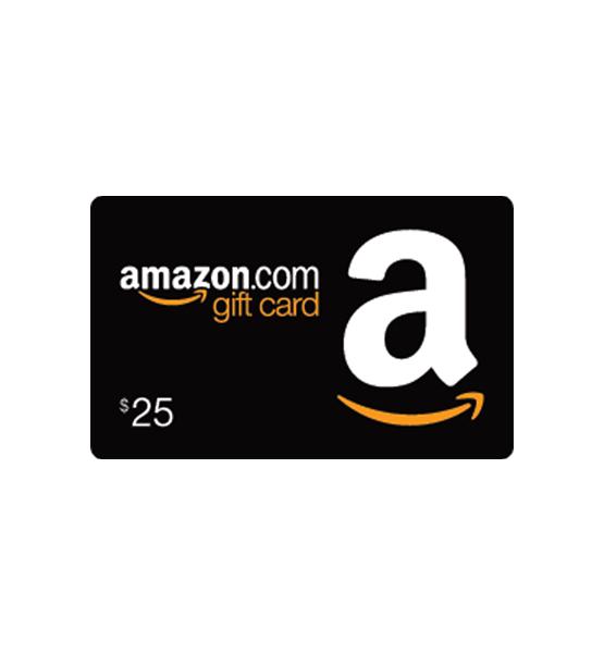 $25 Amazon Gift Card.
