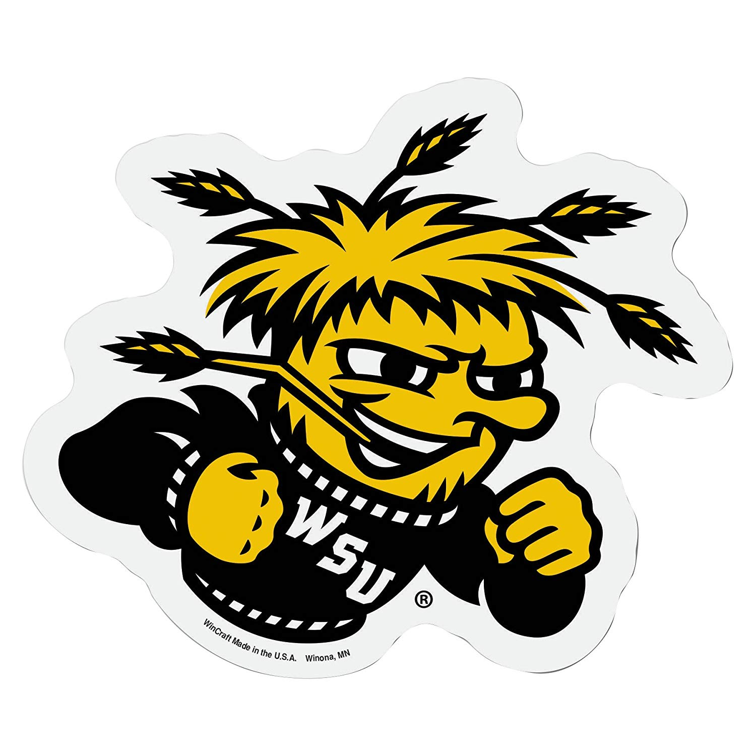 Amazon.com : NCAA Wichita State Shockers Logo on the Go Go.