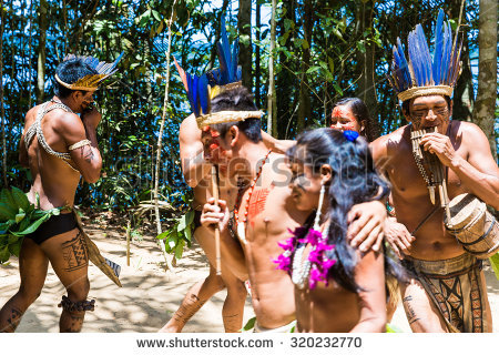 Amazon Tribe Stock Photos, Royalty.