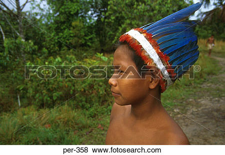 Pictures of Amazon Indian Iquitos Peru per.
