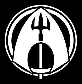Amazon.com: UR Impressions Aquaman Trident Logo Insignia.