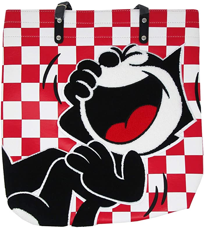 Amazon.com: Loungefly x Felix the Cat Checkered Faux.