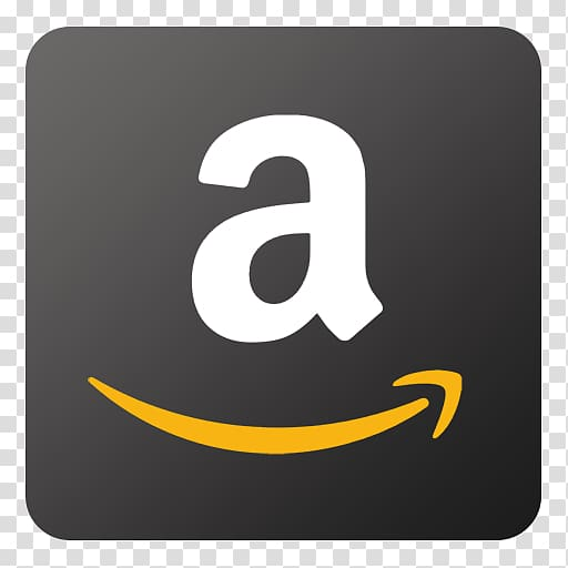 Amazon logo, emblem text symbol yellow, Amazon transparent.