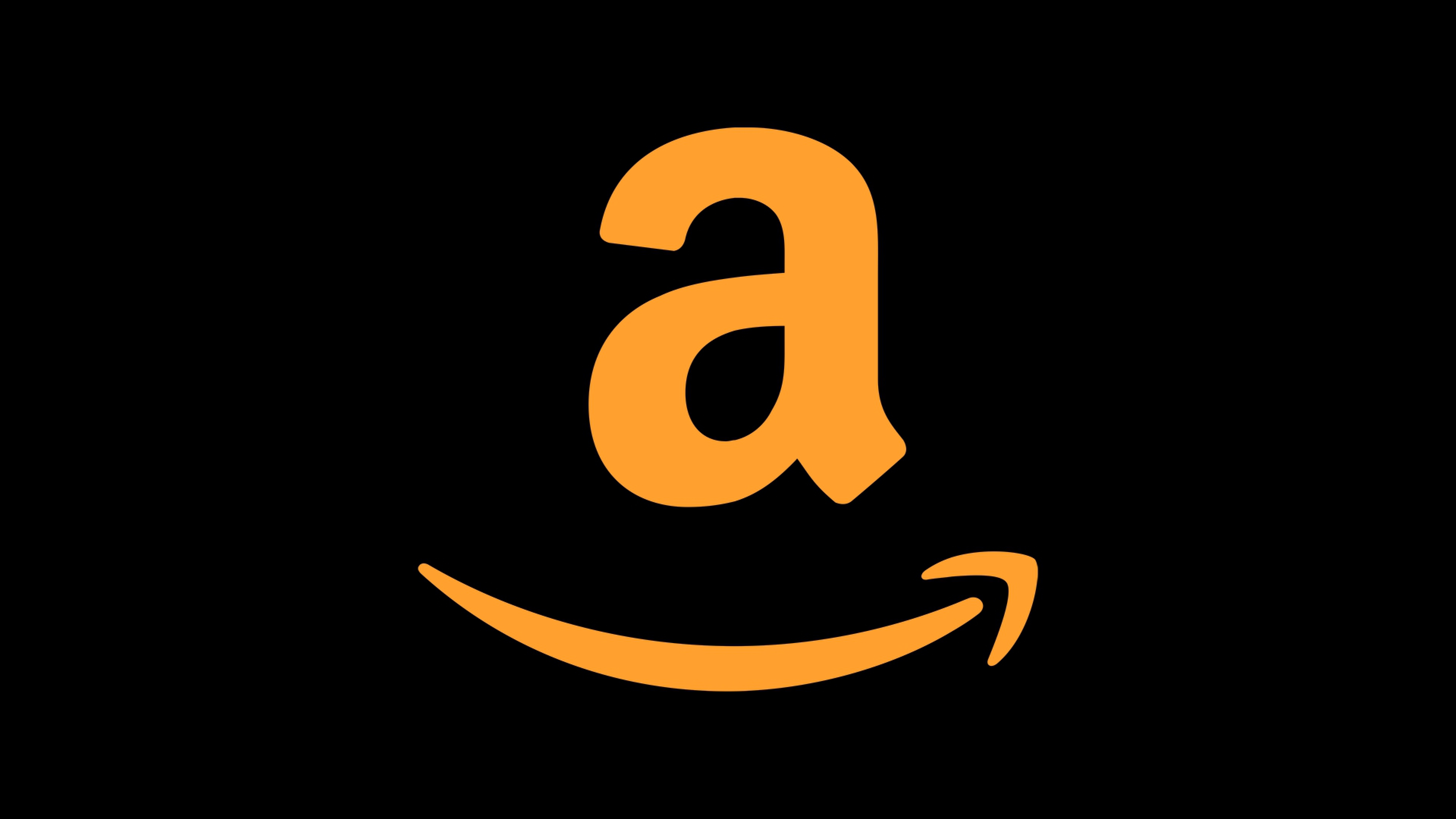 Amazon 4k Logo, HD Logo, 4k Wallpapers, Images, Backgrounds.