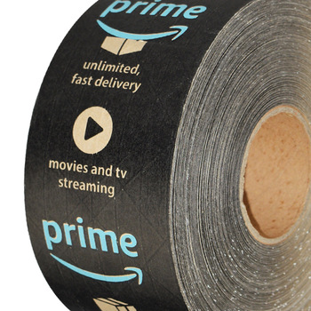 Fragile Kraft Custom Logo Amazon Packing Adhesive Prime Tape.