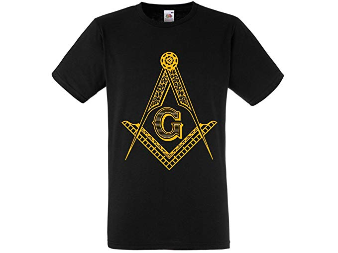 Freemason Mason Square & Compass Logo T.