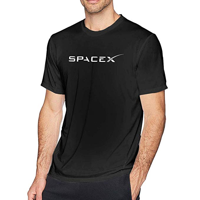 Amazon.com: SPACEX Men\'s Fashion T.