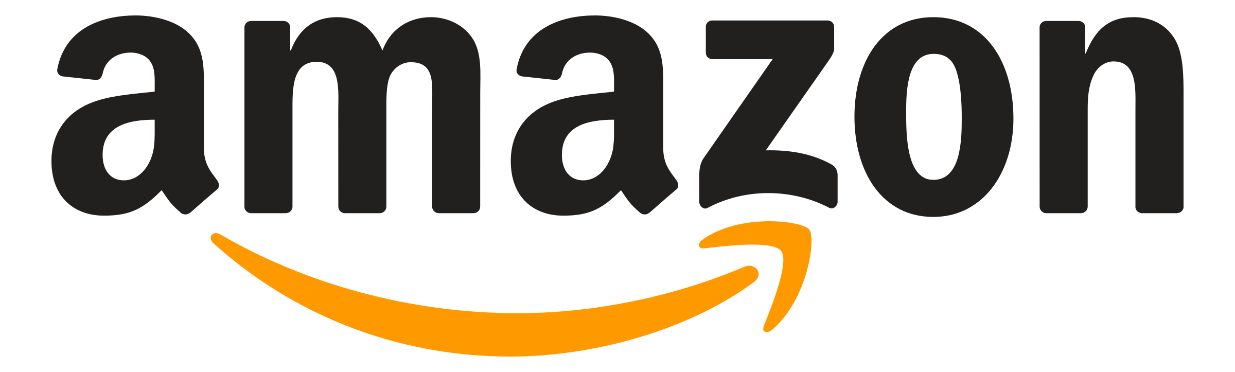 Amazon Logo PNG Transparent & SVG Vector.
