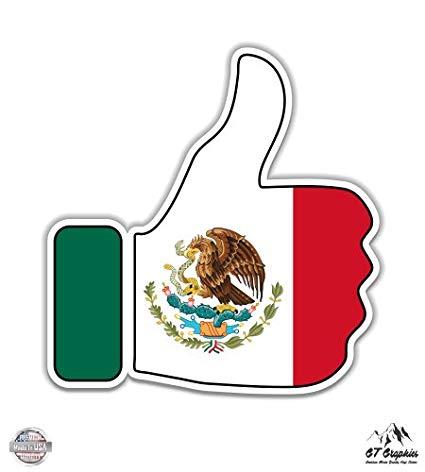 Amazon.com : GT Graphics Mexico Thumbs Up.