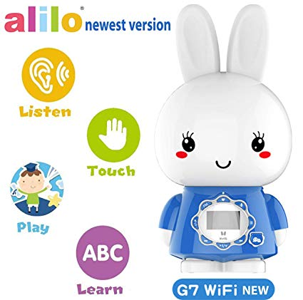 alilo Bunny MP3 Player for Kids with Stories and Songs, Newest Version.