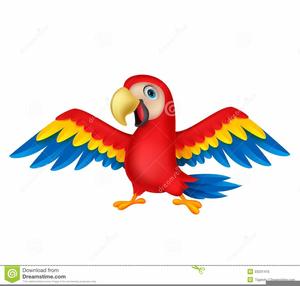 Amazon Parrot Clipart.