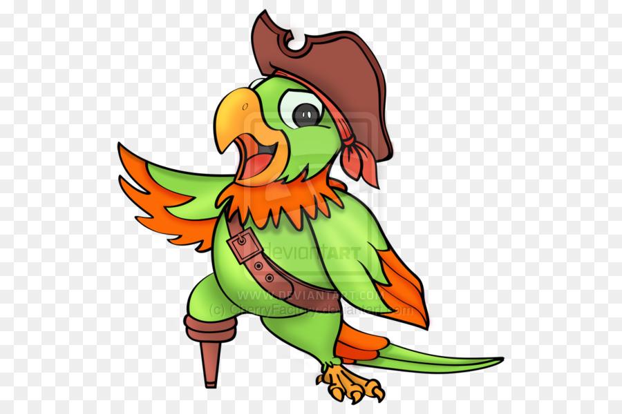 Amazon parrot Piracy Clip art.