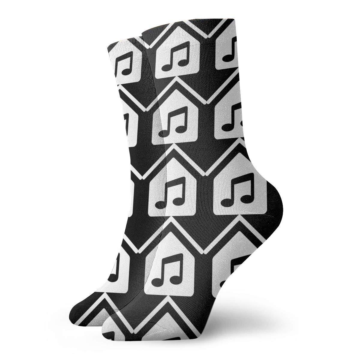 Soulful House Music Clipart Socks, Dress Socks Funny Socks.