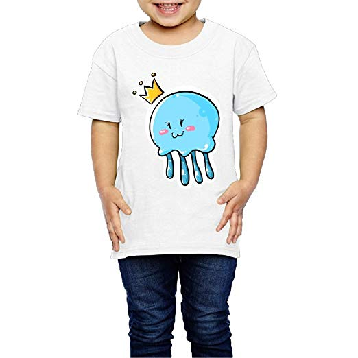 Amazon.com: Aiguan Cute Jellyfish Clipart Queen Toddler.