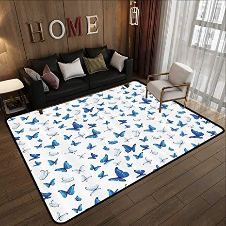 Amazon.com: Bath Rugs for Bathroom,Butterflies Decoration.