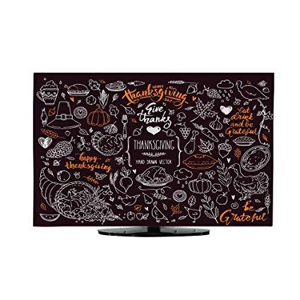 Amazon.com: TV Cover Thanksgiving Symbols Linear.