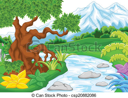 Amazon river clipart.