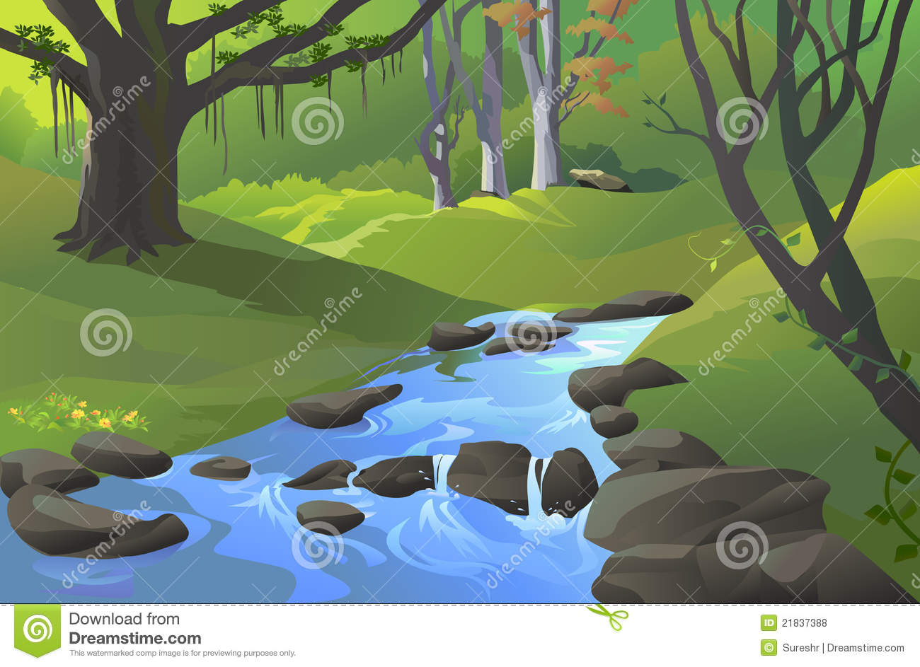 Forest River Clip Art.