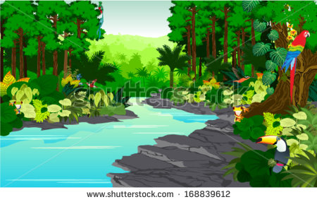 River Animals Stock Vectors, Images & Vector Art.