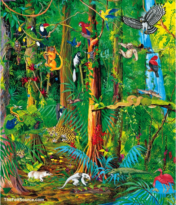 Amazon forest clipart.