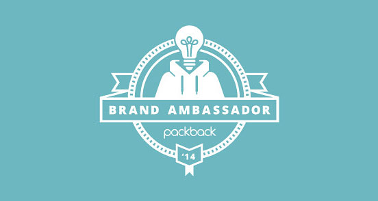 Brand Ambassador Badge.