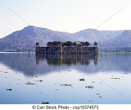 Picture of Summer Palace, Amber, India..