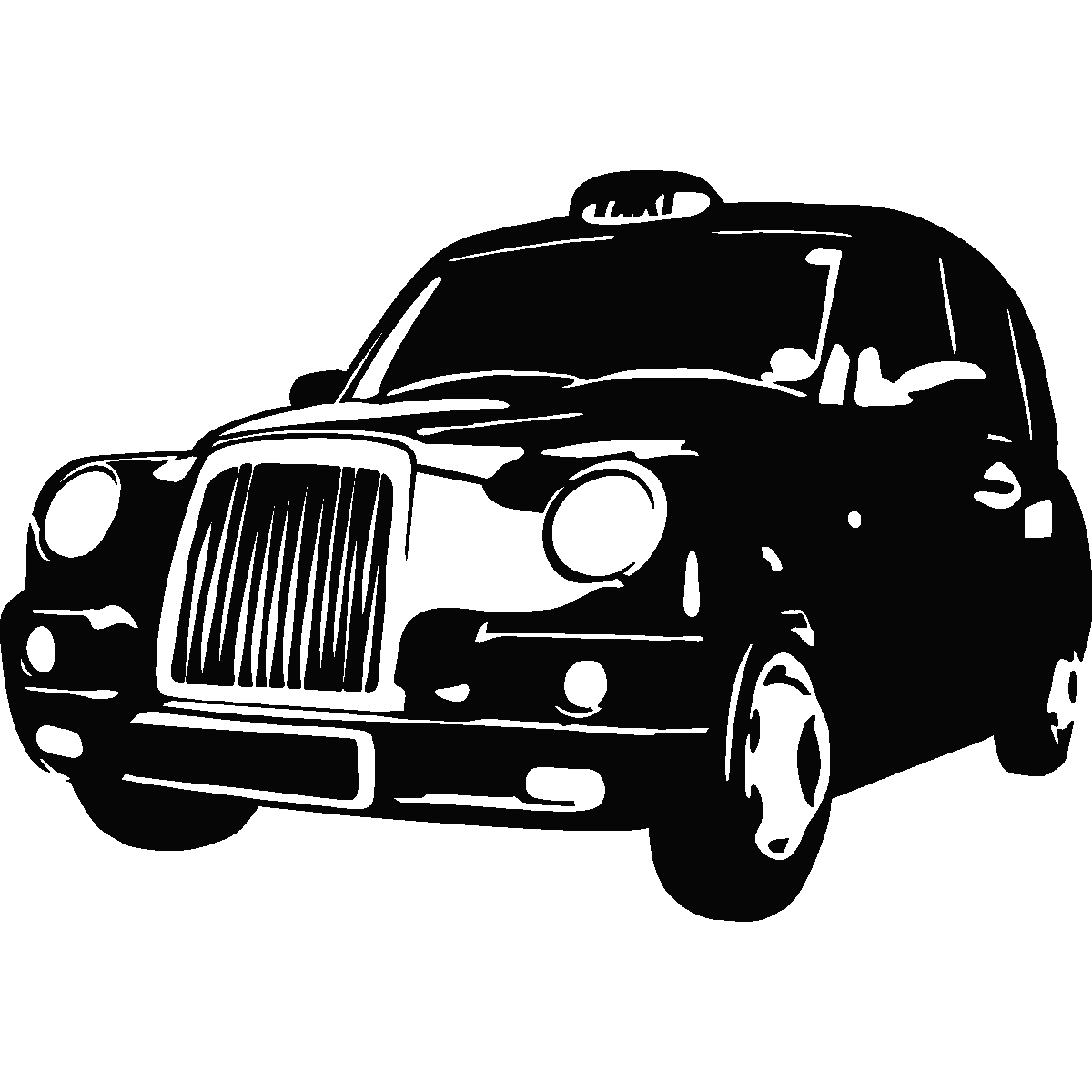 Adesivi Murali Urbani Adesivo London Taxi 1 Ambiance Sticker Com.